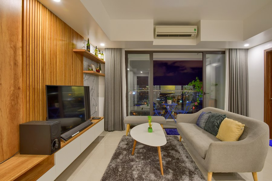Căn hộ 2 phòng ngủ, nội thất đầy đủ, đã có khách thuê