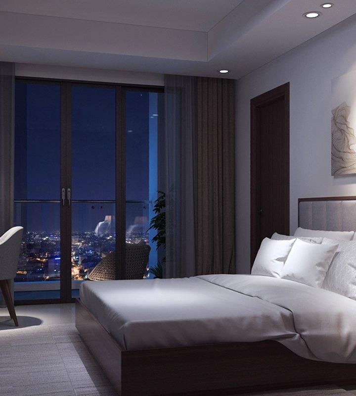 Căn hộ Hiyori 3 phòng ngủ, view cực đẹp, đầy đủ nội thất cao cấp