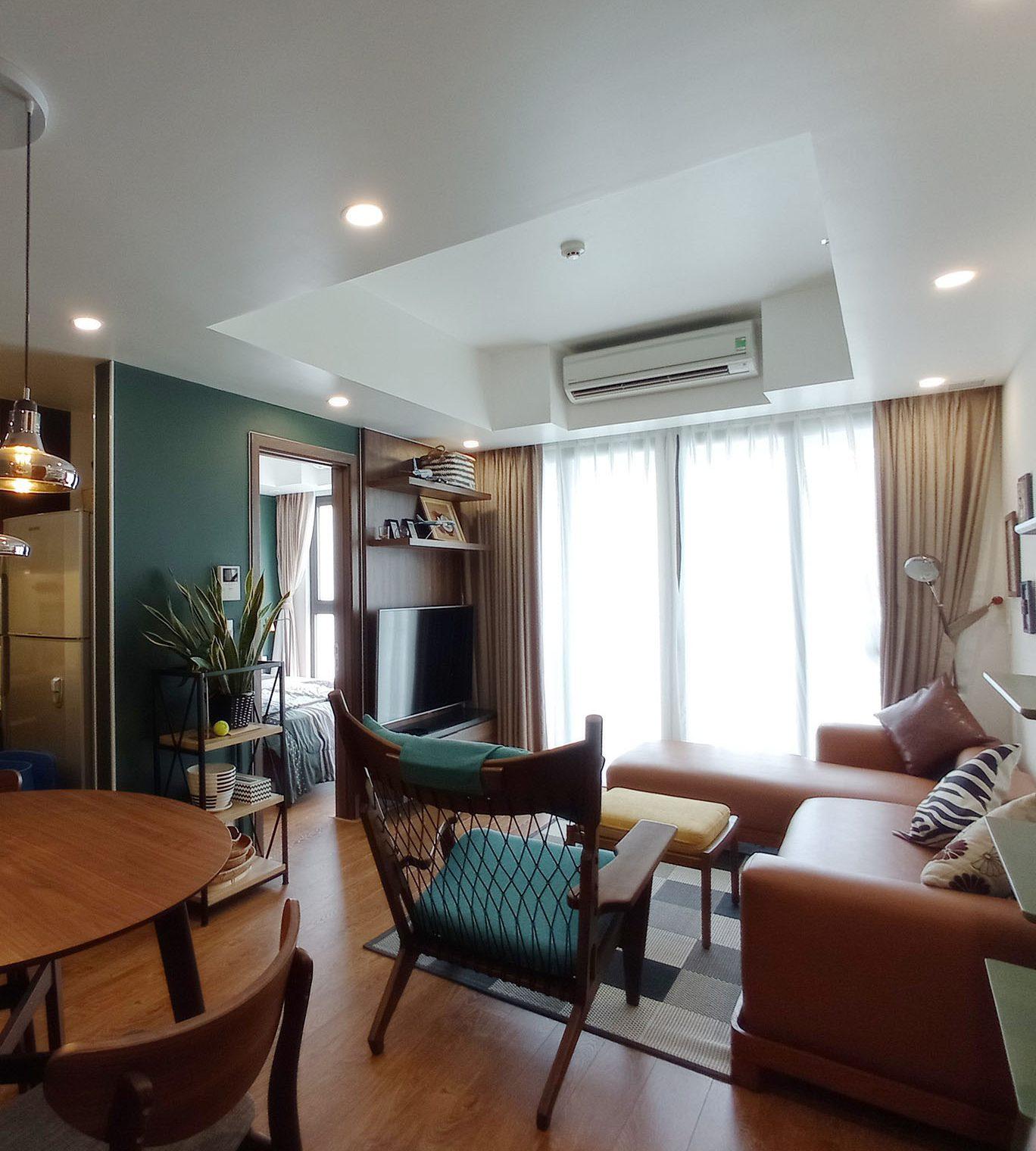 Căn hộ Hiyori tầng 15, đầy đủ tiện nghi và trang thiết bị