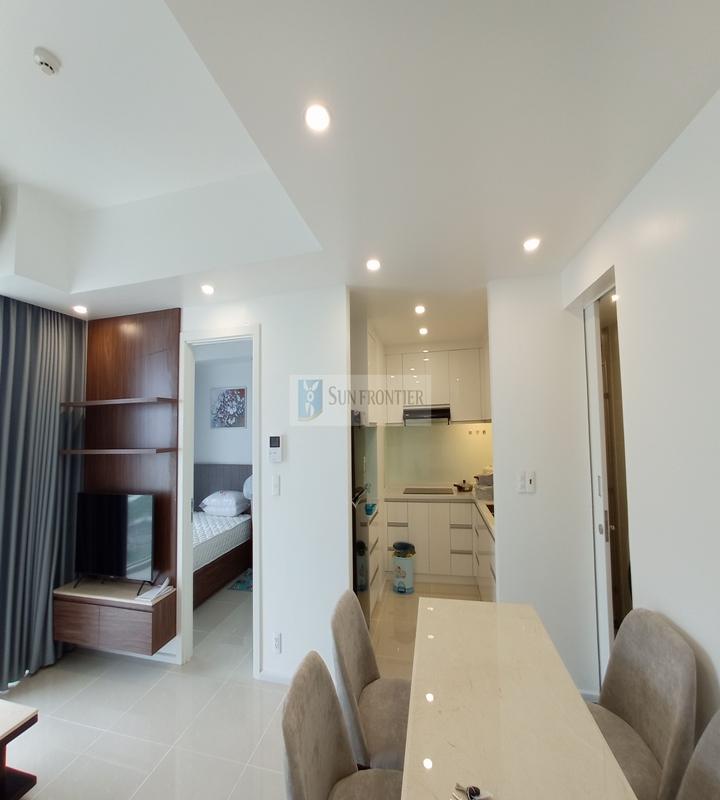 Cho thuê căn hộ Hiyori 2 phòng ngủ, tầng 9 full nội thất sang trọng