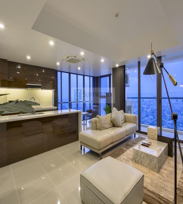 Cho thuê căn hộ Hiyori Garden Tower, penthouse 3 phòng ngủ, view siêu đẹp, nội thất sang trọng