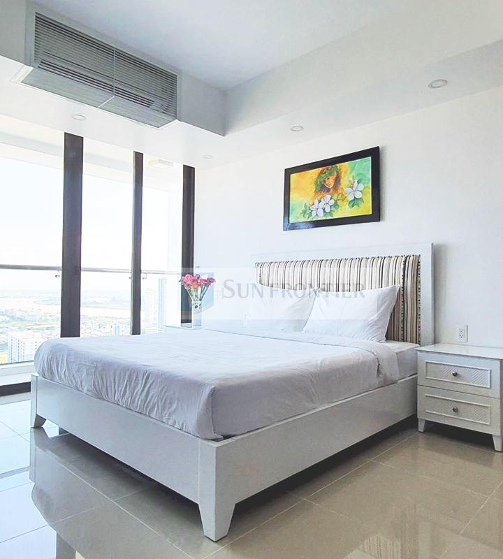Cho thuê căn hộ Hiyori Garden Tower, penthouse 3 phòng ngủ, view cực rộng, nội thất hiện đại