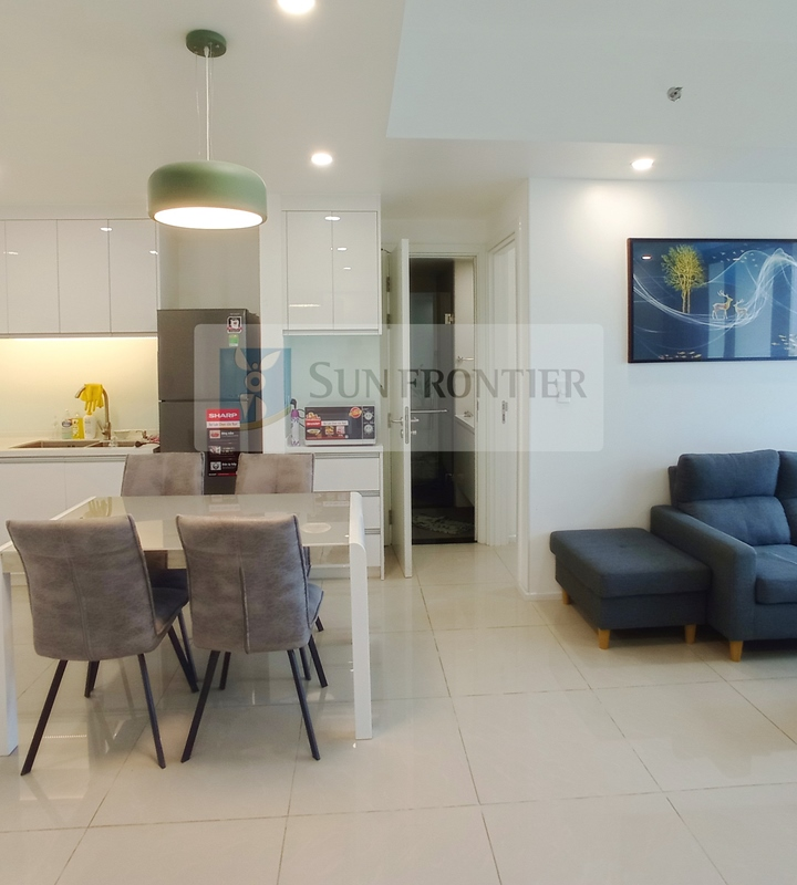 Cho thuê căn hộ Hiyori Garden Tower, 2 phòng ngủ, tầng 11, nội thất mới đẹp