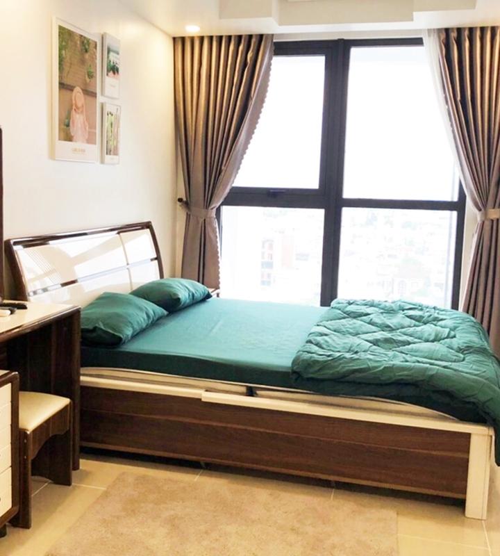 Cho thuê căn hộ Hiyori, 2 phòng ngủ, tầng 11, view đường Võ Văn Kiệt